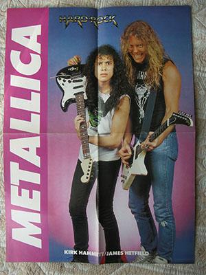 плакат metallica очень редкий