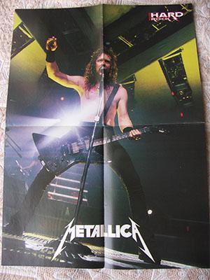 metallica poster 1989 James Hetfield