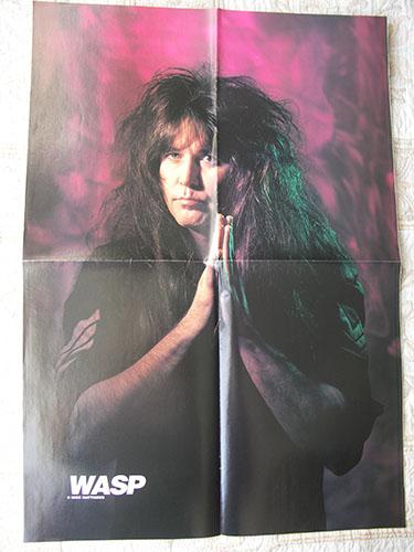 w.a.s.p. плакат новый 1992 года